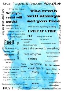 Love, Purpose & Freedom Manifesto